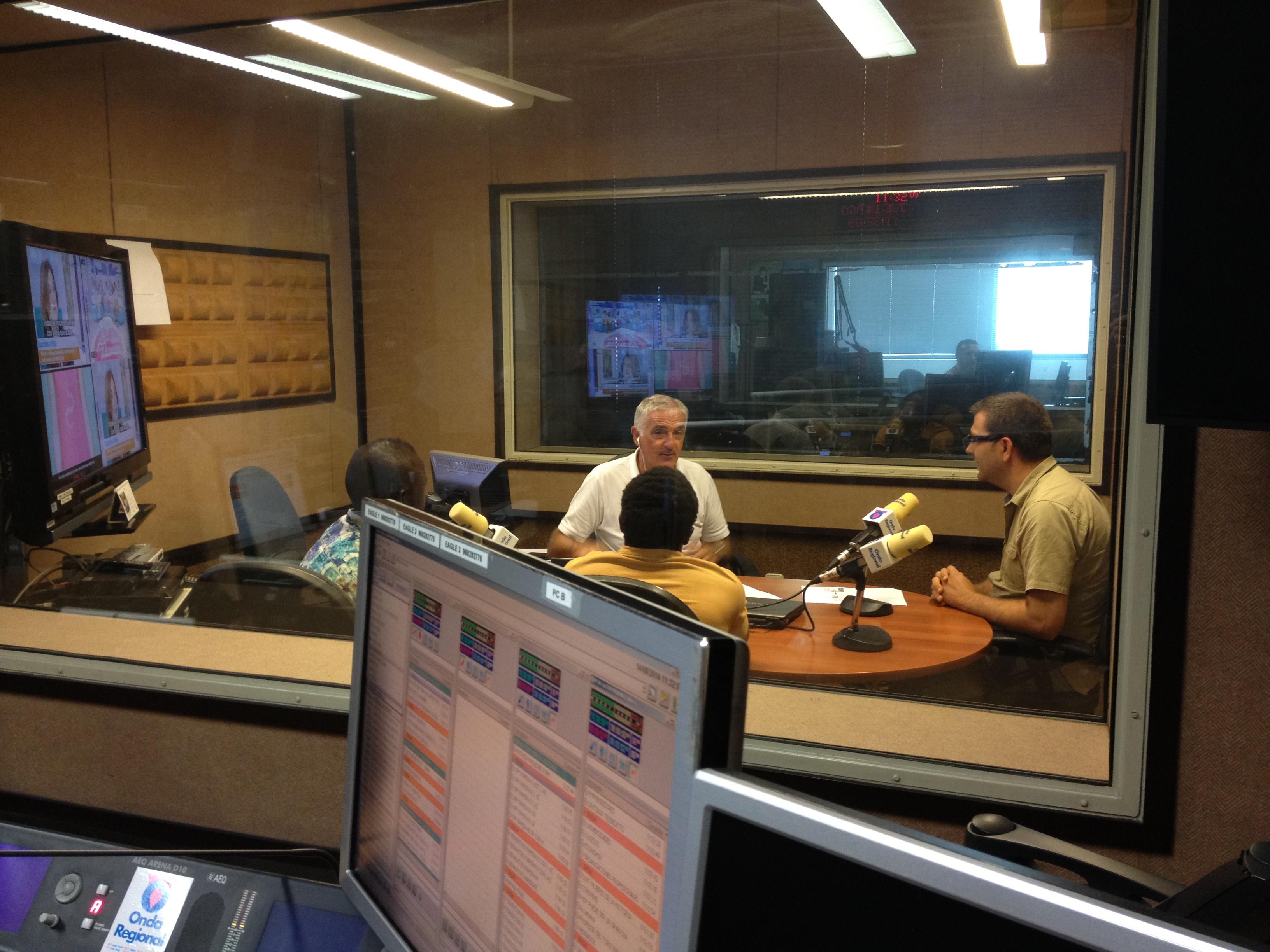 Entrevista Onda Regional Murcia