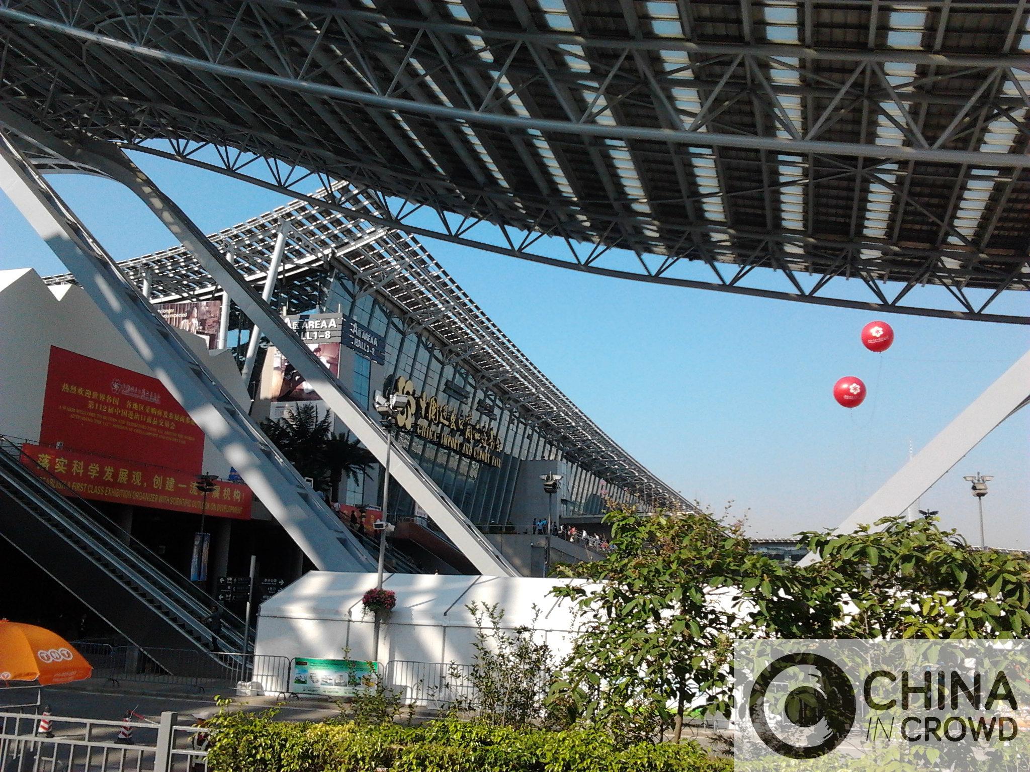 Canton fair 2011. CHINA IN CROWD