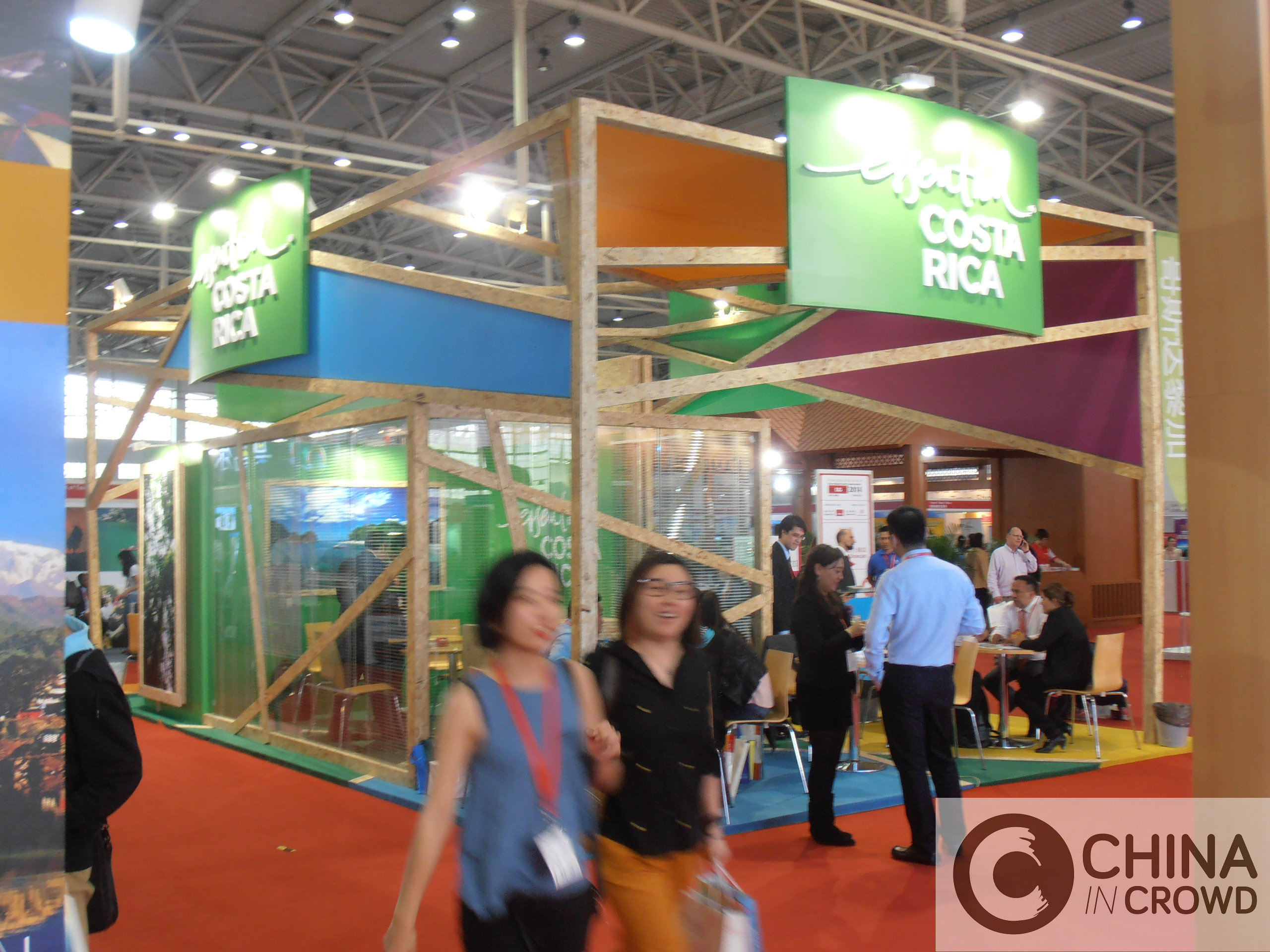 Stand Costa Rica_COTTM 2014_turismo chino_CHINA IN CROWD