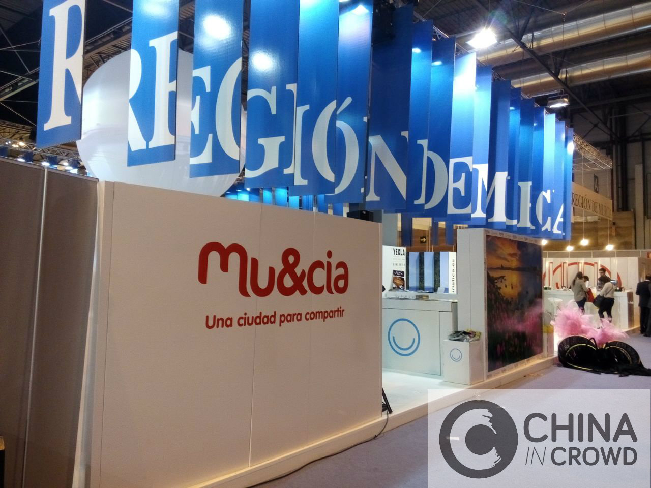 Fitur Region de Murcia. CHINA IN CROWD
