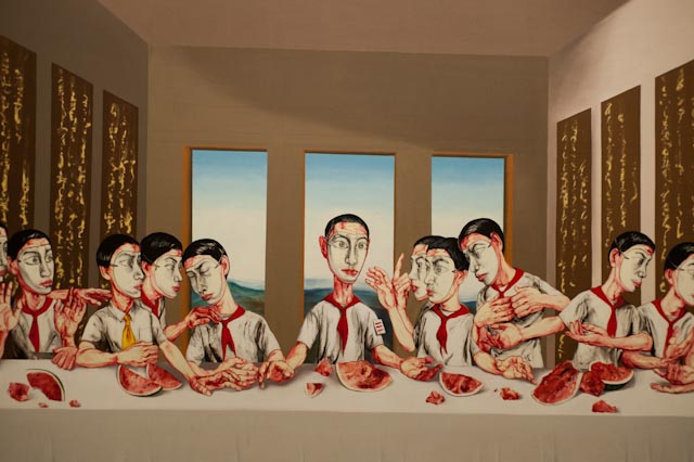 The Last Supper (2001, Zeng Fanzhi) I CHINA IN CROWD