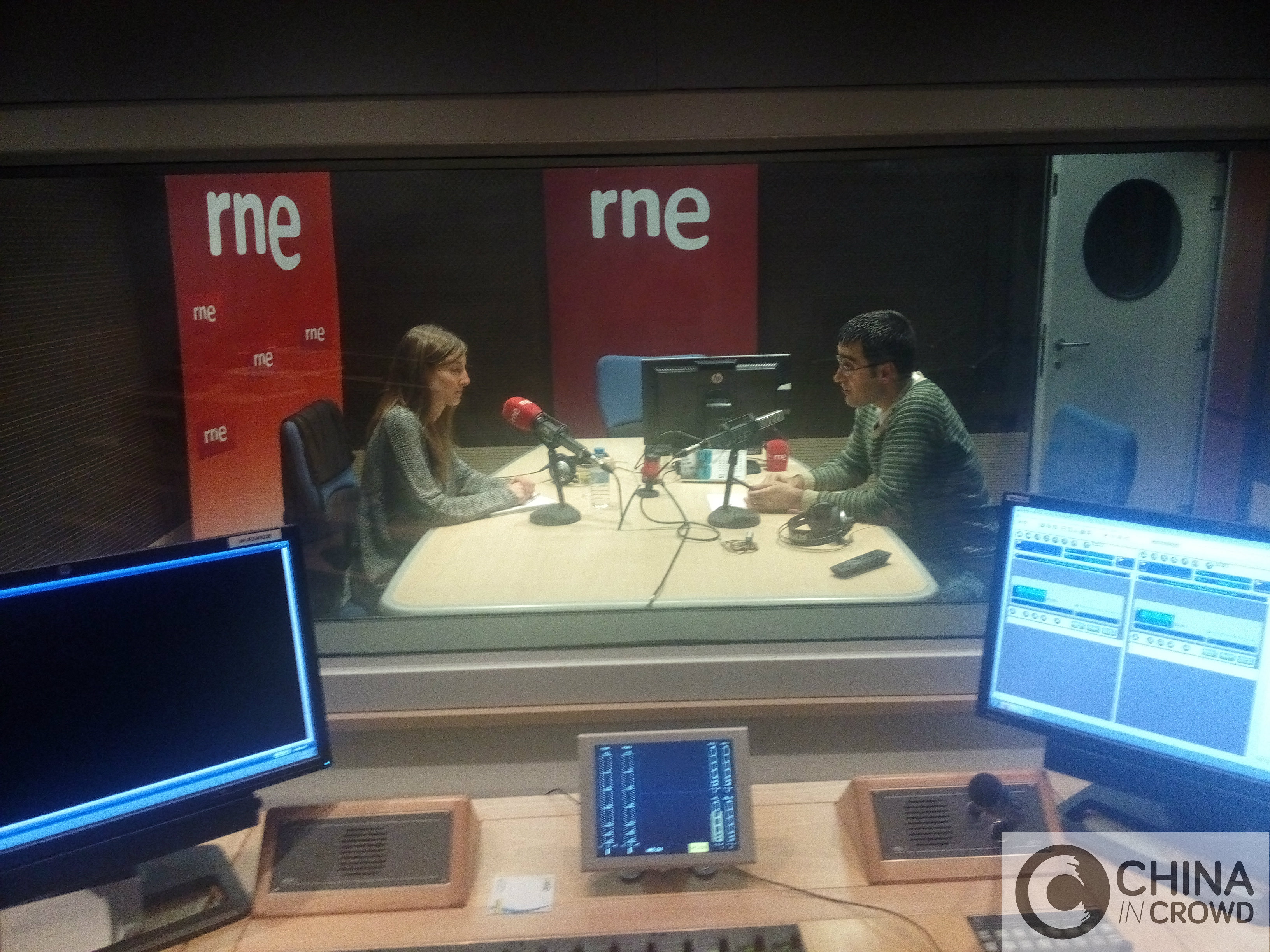 Entrevista en RNE CHINA IN CROWD