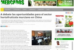 Revista mercados oportunidades sector hortofruticola China in crowd