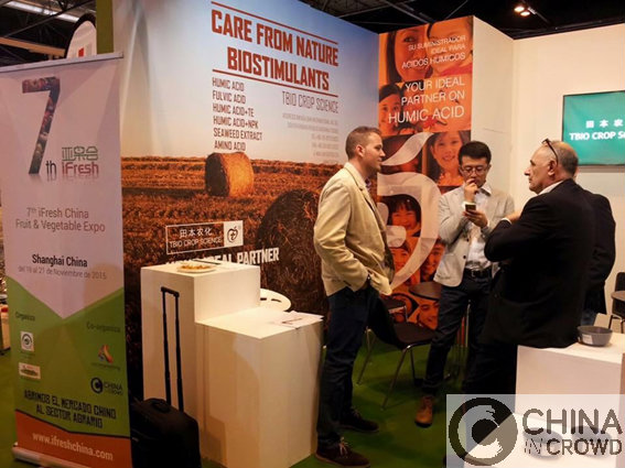 2015 Fruit attraction Exportar fruta desde España